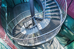 Spiral stair Royalty Free Stock Photography