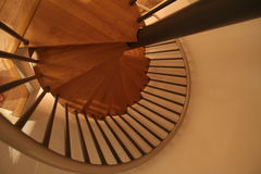 Spiral. Stair to another level of understanding stock image