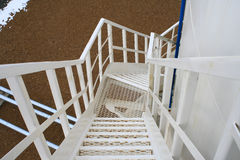 The spiral staircase. Royalty Free Stock Photos