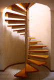 Spiral Staircase. In a modern home stock photos