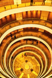 Spiral staircase. In the Saudi Pavilion,Shanghai  Expo park,China Royalty Free Stock Photos
