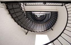 Spiral Staircase. Shot from below stock photos