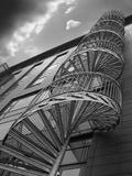 Spiral staircase. A black and white version of the Spiral staircase image which you find in my portfolio stock photo
