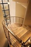 Spiral staircase. Royalty Free Stock Photo