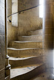 Spiral staircase. In tower of gothic Dom in Cologne Royalty Free Stock Photos