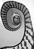 Spiral Staircase. In an old building in Hungary, Budapest Royalty Free Stock Image