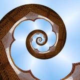 Spiral stock image