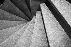 Spiral staircase Architecture details Stock Image