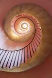 Spiral staircase, Beckford Tower, Bath royalty free stock photos