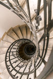 A spiral staircase in the cathedral of Budapest Stock Images