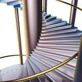 Spiral staircase close-up Royalty Free Stock Photos