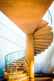 Spiral staircase at the East Building of the National Gallery of Royalty Free Stock Photo