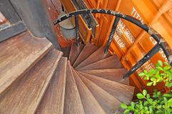 The spiral staircase Stock Image