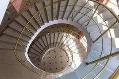 Spiral staircase interior floor house urban Stock Photo