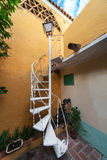 Spiral staircase with a lantern Stock Images