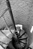 A spiral staircase Royalty Free Stock Image