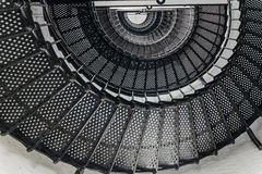 Spiral. Staircase of a lighthouse Royalty Free Stock Images