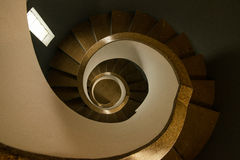 Spiral staircase of lighthouse Royalty Free Stock Photography