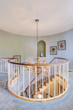 Spiral staircase in luxury house Royalty Free Stock Image