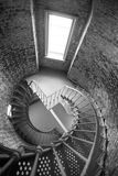 Spiral Staircase Metal Brick Architecture Historic Building Interior Royalty Free Stock Photos