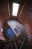 Spiral Staircase Metal Brick Architecture Historic Building Interior Royalty Free Stock Image