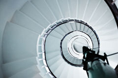 Spiral staircase Stock Images