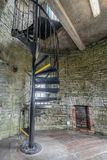 Spiral staircase in old tower Stock Photography