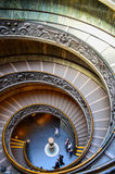 Spiral staircase. Photo of a spiral staircase, taken in Vatican museum in italy Stock Photos