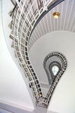 Spiral staircase, Prague Museum of Czech cubism Royalty Free Stock Photos