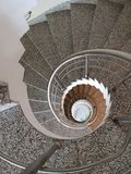 Spiral staircase. royalty free stock images