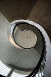 Spiral staircase. Strange aspect of spiral staircase Royalty Free Stock Image