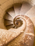 Spiral staircase. Time spiral concept stock photography