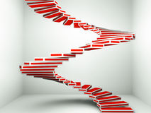 Spiral staircase up Royalty Free Stock Image