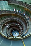 Spiral Staircase, Vatican, Rome Royalty Free Stock Photo