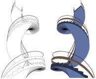 Spiral Staircase Vector Stock Photography