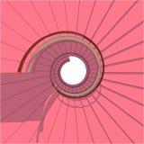 Spiral Staircase Vector Stock Photo