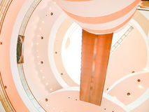 Spiral staircase. View of a spiral staircase at   Bangkok Art and Culture Centre  13  JUN 2013 Stock Photos