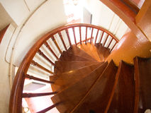 Spiral staircase in Wat Ratchanadda, Loha Prasat Thailand Stock Photos