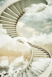 Spiral staircases Stock Photography