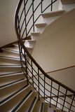 Spiral stairs. Stair-well of spiral stairs at the daylight Stock Photography
