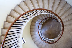 Spiral stairs Stock Photography