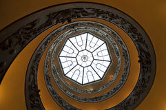 Spiral stairs. Wide angle view of spiral stairs from Stock Photography