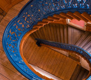 Spiral stairs royalty free stock image