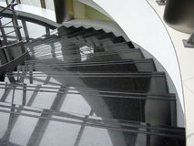 Spiral stairs. Stairs in spiral royalty free stock photography
