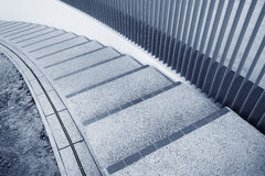 Spiral stairs abstract Stock Images