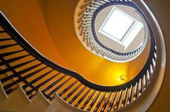 Spiral stairs Stock Photos