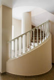 Spiral stairs in old house Stock Photography