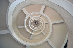 Spiral Stairs in Singapore Royalty Free Stock Photo