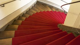 Spiral stairs Royalty Free Stock Photos