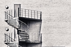 Spiral stairs Royalty Free Stock Photo